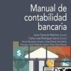 Libros: MANUAL DE CONTABILIDAD BANCARIA. Lote 289336878