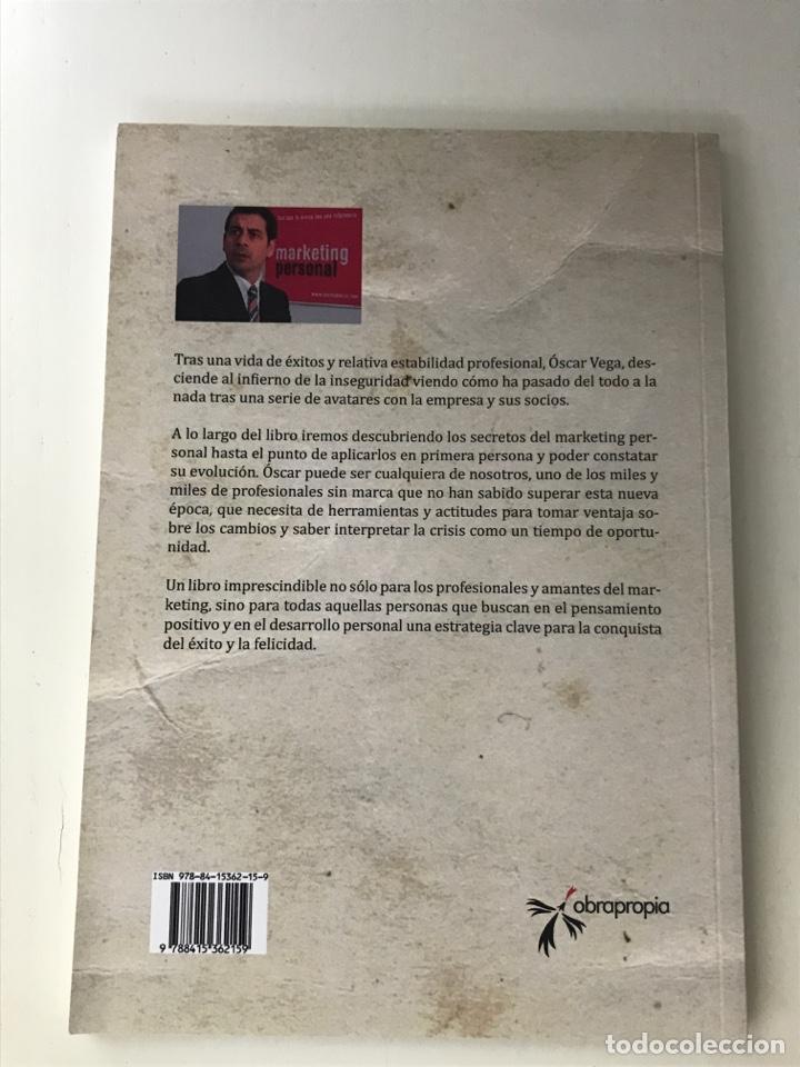 Libros: El marketing personal me salvó la vida. Pablo Adán - Foto 2 - 289483018