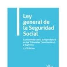 Libros: LEY GENERAL DE LA SEGURIDAD SOCIAL 15ª EDICIÓN 2021. Lote 294561688