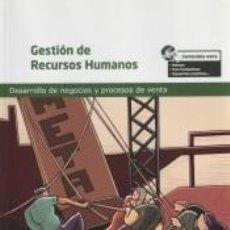 Libros: GESTIÓN DE RECURSOS HUMANOS. Lote 295017888