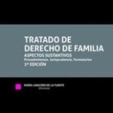 Libros: TRATADO DE DERECHO DE FAMILIA 2ª EDICIÓN 2020. Lote 295031313