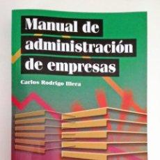 Libros: MANUAL DE ADMINISTRACIÓN DE EMPRESAS | UNED. Lote 296004628
