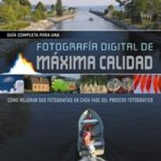 Libros: FOTOGRAFÍA DIGITAL DE MÁXIMA CALIDAD - DEREK DOEFFINGER. Lote 42764646