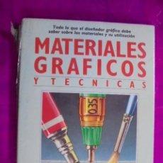 Livros: MATERIALES GRAFICOS Y TECNICAS DISEÑO - LAING - TENSADO DE PAPEL - BLUME 1989 - PRECINTADO !!!. Lote 49249983
