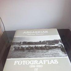 Libros: LIBRO FOTOGRAFIAS ARGAZKIAK IV - GUIPUZKOA - DONOSTIA - (1951-1960). Lote 84713160