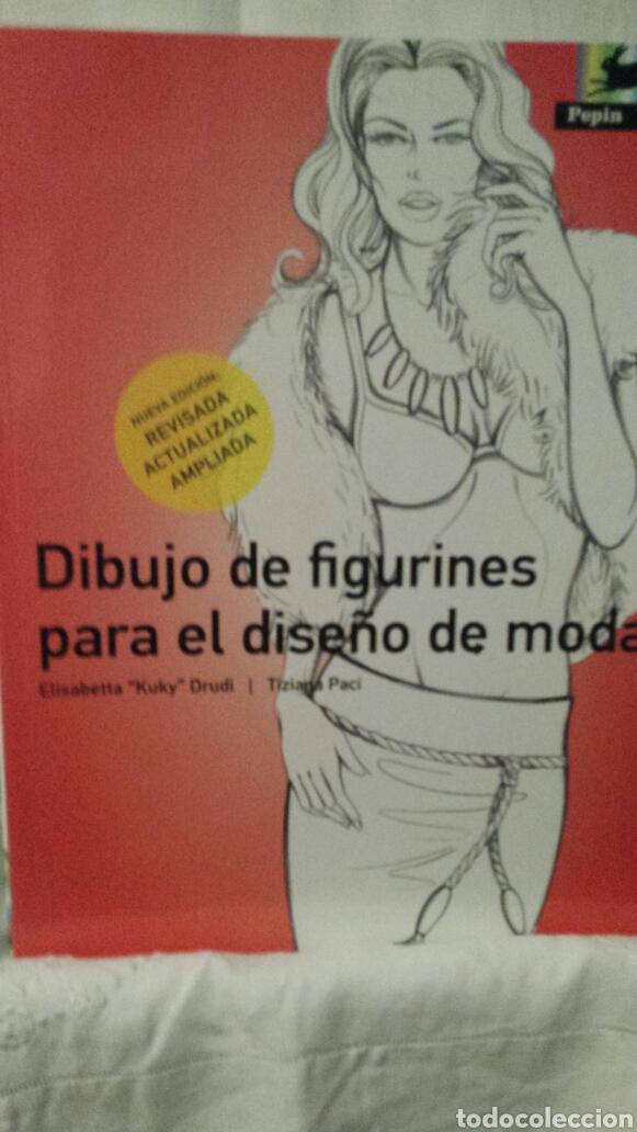 Dibujo De Figurines Para El Diseño De La Moda Comprar Libros De