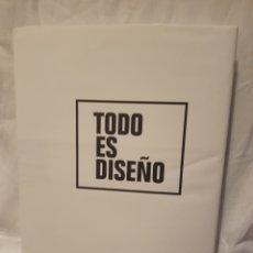 Libros: TODO ES DISEÑO. Lote 95032610