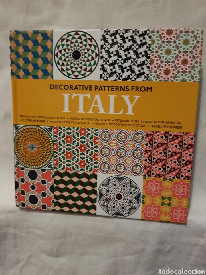 DECORATIVE PATTERNS FROM ITALI (Libros Nuevos - Bellas Artes, ocio y coleccionismo - Diseño y Fotografía)