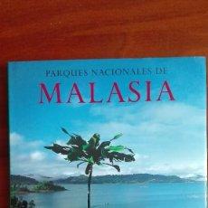 Libros: PARQUES NACIONALES DE MALASIA FOTOGRAFÍAS DE GERALD CUBITT KONEMANN 2000. Lote 95405651