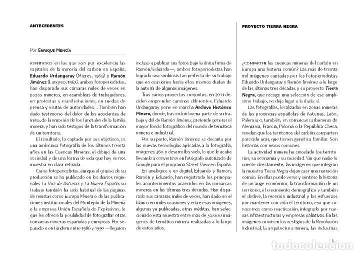 Libros: Tierra Negra. Minas y Mineros - Foto 2 - 211685699