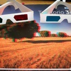 Libros: ALBUM TERRITORIO 3D + 2 PARES DE GAFAS. Lote 101742215