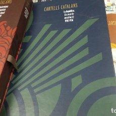 Libros: CARTELLS CATALANS LOTE DE 3 TOMOS. Lote 122000467