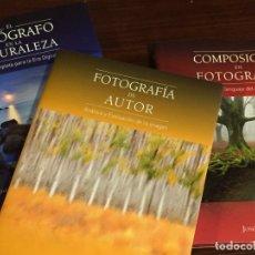 Libros: LIBROS FORMACIÓN EN FOTOGRAFÍA. JOSÉ B. RUIZ. PACK TRILOGÍA: TÉCNICA, COMPOSICIÓN, PROYECTOS AUTOR. Lote 130031315