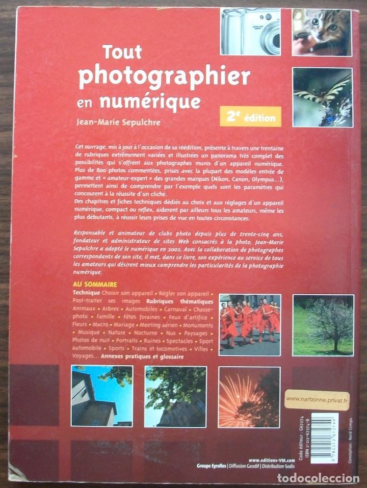 Libros: TOUT PHOTOGRAPHIER EN NUMERIQUE. JEAN - MARIE SEPULCHRE. - Foto 6 - 133394554