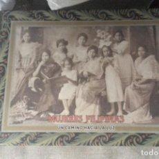 Libros: MUJERES FILIPINAS. UN CAMINO HACIA LA LUZ. FOTOGRAFÍA. Lote 143328876