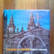 Libros: LA CATEDRAL DE SANTIAGO - BELLEZA Y MISTERIO - FOTOGRAFÍAS DOMI MORA - LUNWERG - PRECINTADO. Lote 144967114