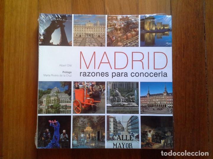 MADRID, RAZONES PARA CONOCERLA - ALBERT OLLÉ - PRÓLOGO MARTA RIVERA DE LA CRUZ - PRECINTADO (Libros Nuevos - Bellas Artes, ocio y coleccionismo - Diseño y Fotografía)