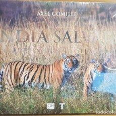 Libros: INDIA SALVAJE / AXEL GOMILLE / ED - TURNER - 2018 / LIBRO PRECINTADO.. Lote 147858338