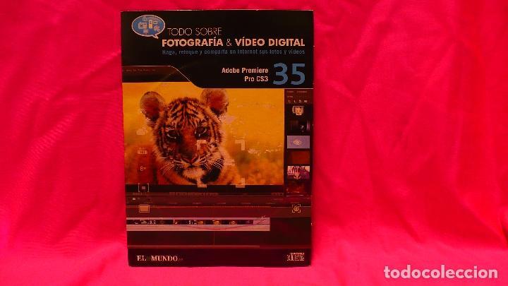 CD, COMPACT DISC, FOTOGRAFÍA & VÍDEO DIGITAL, Nº 35, ADOBE PREMIERE PRO CS3. (Libros Nuevos - Bellas Artes, ocio y coleccionismo - Diseño y Fotografía)
