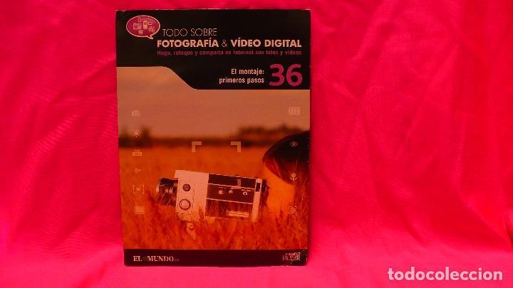 CD, COMPACT DISC, FOTOGRAFÍA & VÍDEO DIGITAL, Nº 36, EL MONTAJE PRIMEROS PASOS. (Libros Nuevos - Bellas Artes, ocio y coleccionismo - Diseño y Fotografía)
