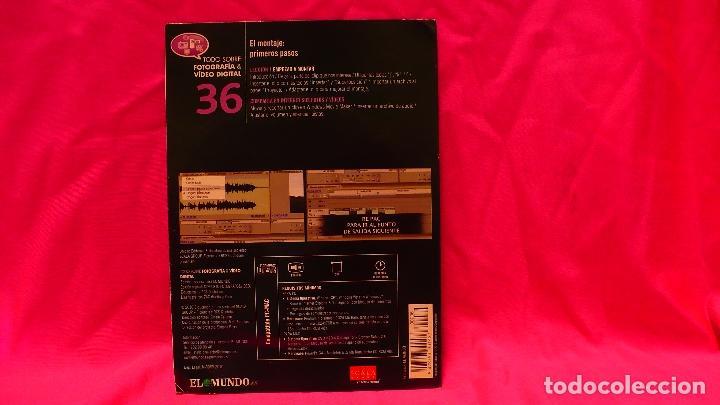 Libros: cd, compact disc, fotografía & vídeo digital, nº 36, el montaje primeros pasos. - Foto 2 - 150483418