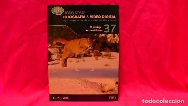 CD, COMPACT DISC, FOTOGRAFÍA & VÍDEO DIGITAL, Nº 37, EL MONTAJE LAS TRANSICIONES. (Libros Nuevos - Bellas Artes, ocio y coleccionismo - Diseño y Fotografía)