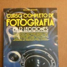"""Libros: CURSO COMPLETO DE FOTOGRAFÍA EN 12 LECCIONES. """"MAURO RIGHINI"""". Lote 151424078"""