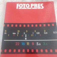 Libros: FOTO PRES 1985 -FUNDACIO CAIXA DE PENSIONS. Lote 155598256