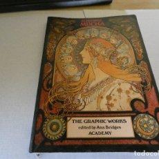 Libros: PRECIOSO LIBRO SOBRE ARTE ALPHONSE MUNCHA THE GRAPHIC WORKS ANN BRIDGES ACADEMY 1080 700 GR. Lote 173964404