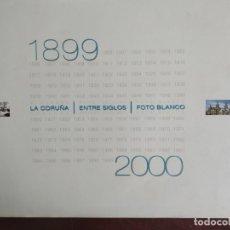 Libros: DOS TOMOS FOTOS DE LA CORUÑA - REALIZADAS FOTO BLANCO (INCLUYE CD-ROM). Lote 176692598