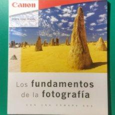 Libros: CANON FUNDAMENTOS DE LA FOTOGRAFÍA. 2001.. Lote 181618978