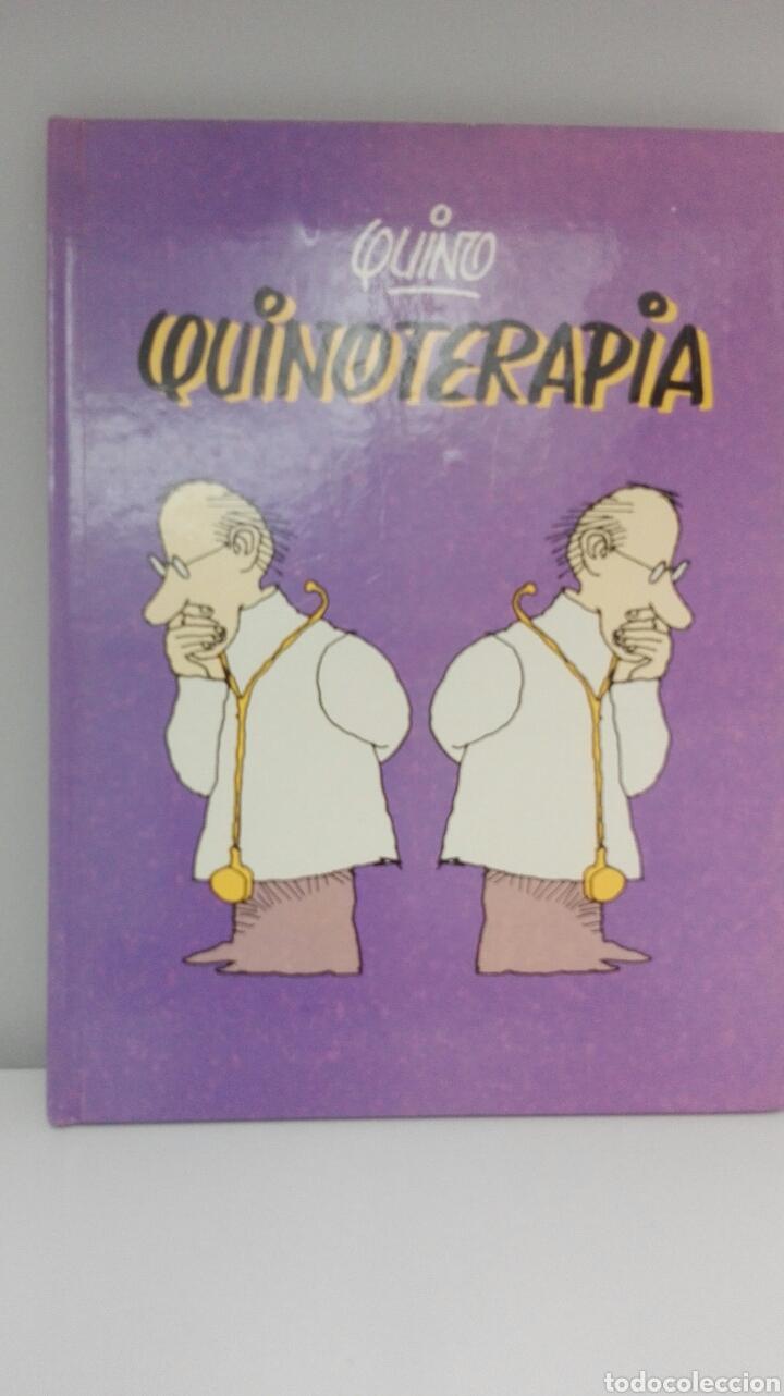 QUINO «QUINOTERAPIA», 1° EDICIÓN 1985. (Libros Nuevos - Bellas Artes, ocio y coleccionismo - Diseño y Fotografía)