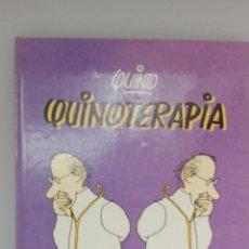 Libros: QUINO «QUINOTERAPIA», 1° EDICIÓN 1985.. Lote 182126566
