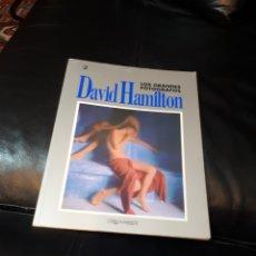 Libros: DAVID HAMILTON LOS GRANDES FOTOGRAFOS. Lote 184800893