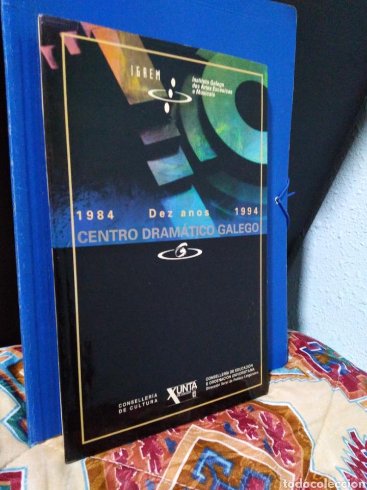 Libros: Libro centro dramático galego ( igaem ) 1984-1994 - Foto 2 - 192844873