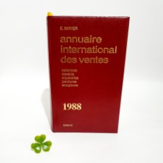 Libros: LIBRO ANNUAIRE INTERNATIONAL DES VENTAS 1988. Lote 193435943