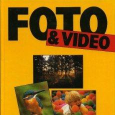 Libros: FOTOGRAFIA Y VIDEO - 8 VOLUMENES Y 10 CINTAS VHS. Lote 193925338