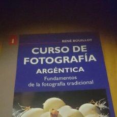 Libros: CURSO DE FOTOGRAFÍA ARGÉNTICA. Lote 194164943
