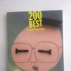 Libros: LIBRO 200 BEST ILLUSTRATORS WORLDWIDE - ARCHIVE. Lote 200606720