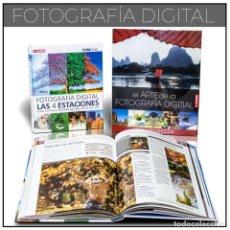 Libros: PACK FOTOGRAFÍA DIGITAL - VARIOS AUTORES (CARTONÉ) DESCATALOGADO!!! OFERTA!!!. Lote 201980296