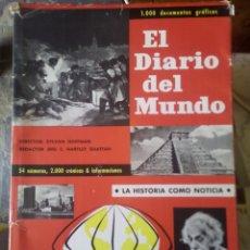 Libros: EL DIARIO DEL MUNDO. LA HISTORIA COMO NOTICIA. Lote 202953330