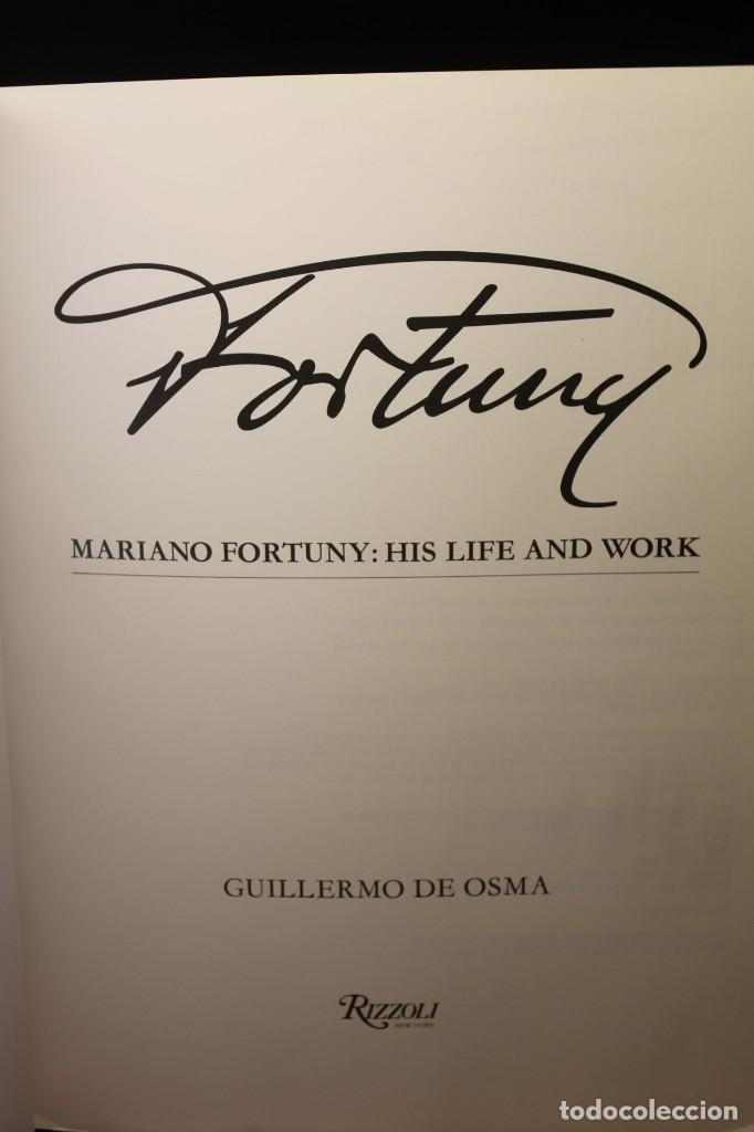 Libros: FORTUNY, HIS LIFE AN WORKS - Foto 3 - 203826583
