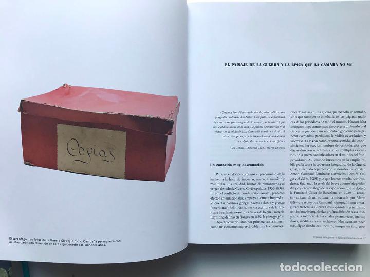 Libros: LA CAJA ROJA. LA GUERRA CIVIL FOTOGRAFIADA POR ANTONI CAMPAÑÀ - Foto 2 - 203903293