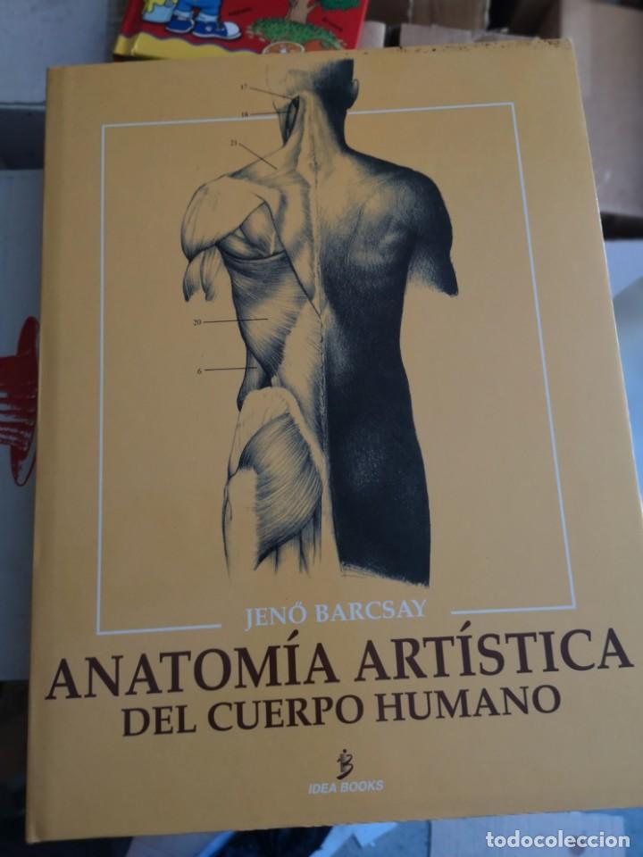 ANATOMIA ARTISTICA DEL CUERPO HUMANO, 1 TOMO (Libros Nuevos - Bellas Artes, ocio y coleccionismo - Diseño y Fotografía)