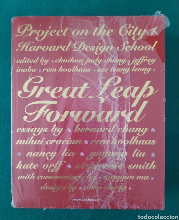 ARQUITECTURA DISEÑO FOTOGRAFÍA LIBRO GREAT LEAP FORWARD TASCHEN 2001 (Libros Nuevos - Bellas Artes, ocio y coleccionismo - Diseño y Fotografía)