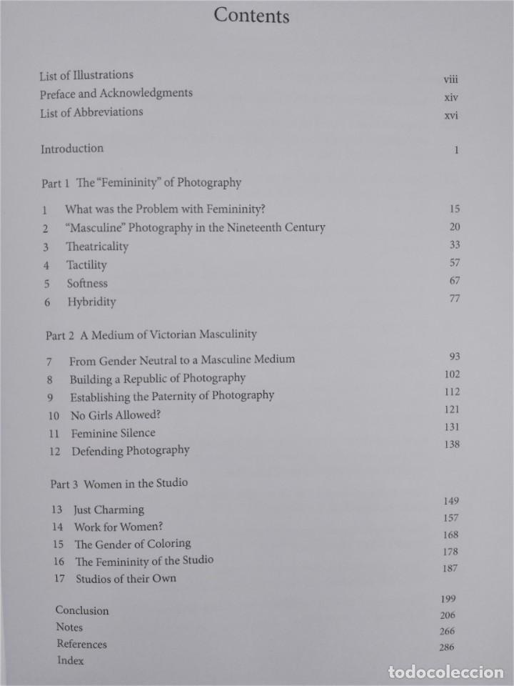 Libros: Libro The Gender of Photography de Nicole Hudgins - Foto 2 - 209366476