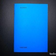 """Libri: """"COLECCIÓN ARCHIVO. ALICANTE, JUNIO 2008"""" DE RICARDO CASES. COPIA Nº5. Lote 233522290"""