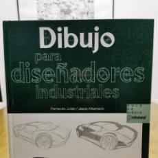 Livres: DIBUJO PARA DISEÑADORES INDUSTRIALES. Lote 216896575