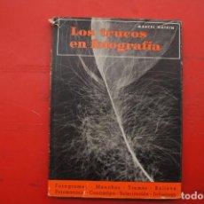 """Libros: LIBRO: LOS TRUCOS EN FOTOGRAFÍA """"MARCEL NATKIN"""". Lote 217710881"""