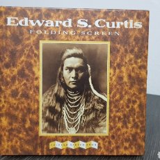 Libros: EDWARD S.CURTIS - FOLDING SCREEN. Lote 222047120